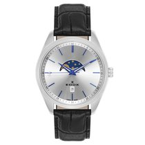 Edox new Quartz Luminous indexes 48mm Steel Sapphire Glass