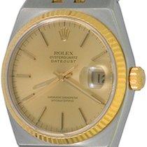 Rolex Datejust Oysterquartz Stahl 35mm Champagnerfarben Keine Ziffern
