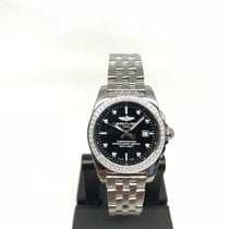 Breitling Galactic Steel 29mm Black No numerals