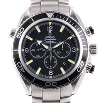 Omega Seamaster Planet Ocean Chronograph Staal 45.5mm Zwart Arabisch Nederland, Woerden