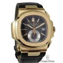 Patek Philippe 5980R-001 Ouro rosa 2015 Nautilus 40mm usado