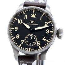 IWC Große Fliegeruhr neu 2017 Handaufzug Uhr mit Original-Box und Original-Papieren IW510301