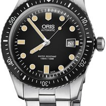 Oris Divers Sixty Five Steel 42mm Black