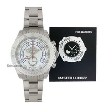 Rolex White gold Automatic White No numerals 44mm new Yacht-Master II
