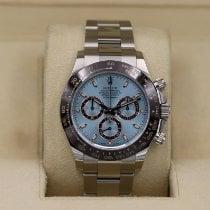 Rolex Daytona Platinum 40mm Blue No numerals