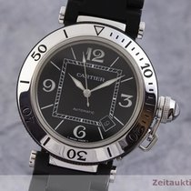Cartier Pasha Seatimer Stål 40mm Svart