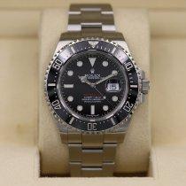 Rolex Sea-Dweller pre-owned 43mm Red Date Steel