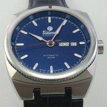 Tutima Saxon One Acero 42mm Azul Sin cifras
