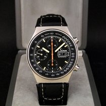 Sinn 144 pre-owned 41mm Black Chronograph Date Weekday Leather