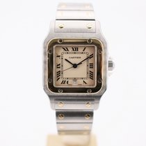 Cartier Santos Galbée Gold/Steel 29mm Champagne Roman numerals United Kingdom, London