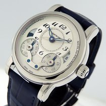 Montblanc Nicolas Rieussec Steel 43mm Silver Arabic numerals United States of America, California, Los Angeles