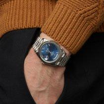 Rolex Day-Date 40 Witgoud 40mm Blauw Romeins Nederland, Amsterdam