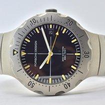 Porsche Design Diver Titan 41mm Negru Fara cifre