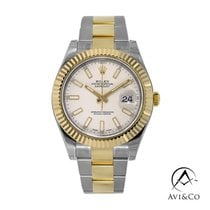 Rolex Datejust II Steel 41mm White No numerals United States of America, New York, New York