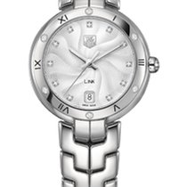 TAG Heuer Link Lady WAT1312.BA0956 - TAGHEUER WATCH DIAMONDS AND ROMAN NUMERAL new