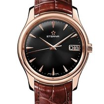 Eterna Vaughan Rose gold 42mm Black United States of America, Ohio, Westerville