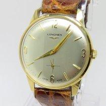 Longines Vintage Calibre 23Z Mechanical Men 9k.Y. Gold Watch
