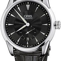 Oris Artelier Small Second Date 62375824074LS