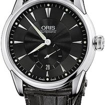 Oris Artelier Small Second Steel Black United States of America, New York, Brooklyn