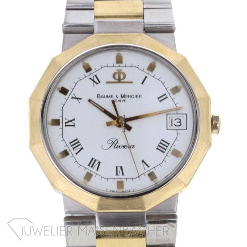 80f129a61e0 Baume   Mercier Riviera - Todos os preços de relógios Baume   Mercier  Riviera na Chrono24
