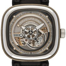 Sevenfriday Steel 47,00mm Automatic S2/01 new