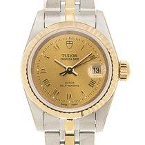 帝陀  Heritage 18k Gold Steel Gold Automatic 92413-62433-CHRN