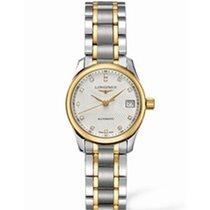 Longines Master Collection Gold/Steel 25.5mm White