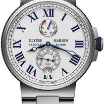Ulysse Nardin Marine Chronometer Manufacture 1183-122-7M/40 новые