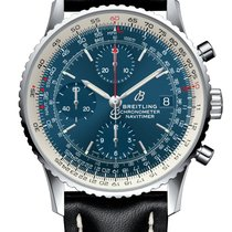 Breitling Navitimer Heritage Steel 41mm Blue United Kingdom, London