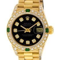 Rolex pre-owned Automatic 26mm Black Sapphire Glass