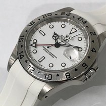 Rolex Explorer II White Dial Ref: 16570