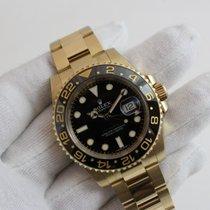 Rolex GMT-Master II neu 40mm Gelbgold