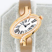 Cartier Délices de Cartier Pозовое золото 30.78mm Cеребро Римские