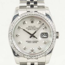 Rolex Datejust Steel 36mm Mother of pearl No numerals United States of America, California, Newport Beach, Orange County
