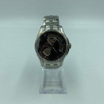 Hamilton Jazzmaster Open Heart pre-owned 40mm Leather
