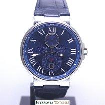 889fe9cca411d Ulysse Nardin Marine Chronometer 43mm Steel. Ulysse Nardin Maxi Marine  Power Reserve 263-67