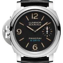 Panerai Luminor Marina 8 Days Steel 44mm Black United States of America, New York, New York