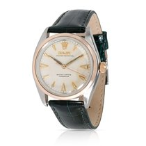 Rolex Bubble Back Gold/Steel 34mm Silver United States of America, New York, New York