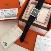 Hermès Heure H Stahl 30.5mm Schwarz Arabisch Deutschland