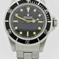 Rolex Submariner (No Date) pre-owned 40mm Black Steel