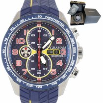 Graham Silverstone RS Steel 46mm Blue United States of America, New York, Massapequa Park