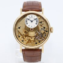 Breguet Tradition Yellow gold 37mm Gold Roman numerals