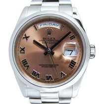 Rolex Day-Date 36 occasion 36mm Date Platine