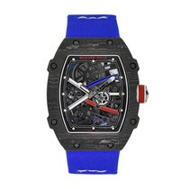 Richard Mille RM 67 Carbono 38mm Transparente Sin cifras
