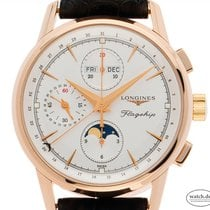 Longines Flagship Rose gold 40mm Silver