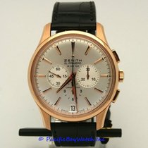 Zenith Captain Chronograph Rose gold 42mm Silver United States of America, California, Newport Beach