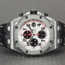 Audemars Piguet Royal Oak Offshore Chronograph Stål 42mm Sølv Arabertal Danmark, Hellerup