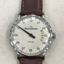 Meistersinger new Automatic Display back Luminous hands 38mm Steel Sapphire crystal