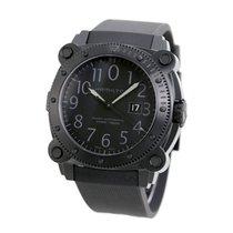 Hamilton Khaki Navy BeLOWZERO Acero 55mm Negro