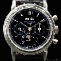 Patek Philippe Ref# 3970EP, Perpetual Chronograph, Black Stick...